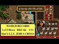 Heroes 3: Hota 1.5.3 - World Record - 111 Break -  Lvl 1 Lorelei On Jebus Cross