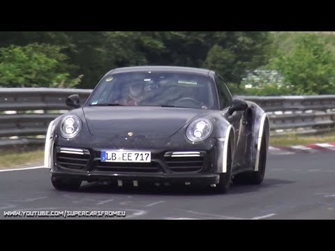 2019 Porsche 911  Turbo S Test Mule Spied on the Nurburgring, Nordschleife!!!