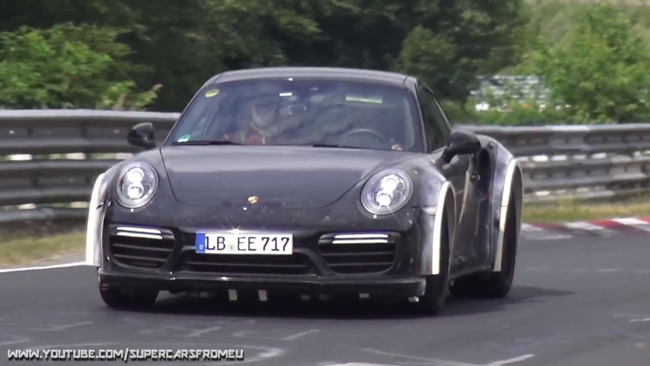 2019 porsche 911 turbo s test mule spied on the. Black Bedroom Furniture Sets. Home Design Ideas