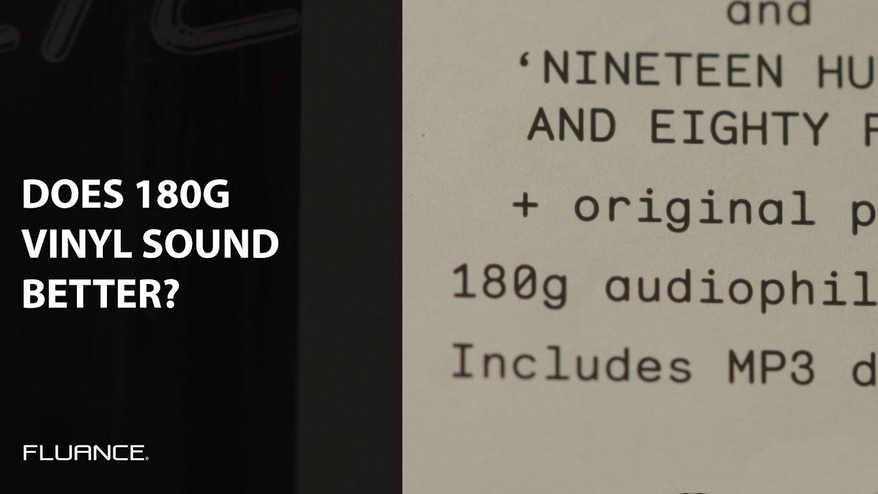 Does 180g Vinyl Really Sound Better Youtube