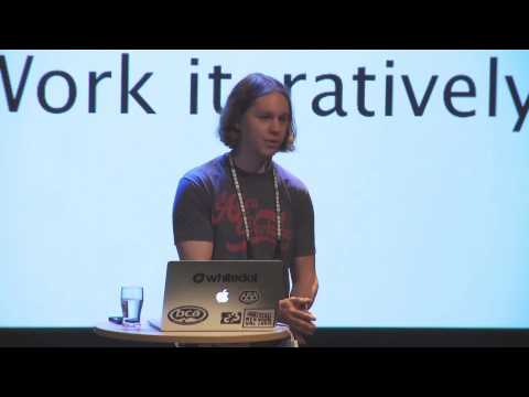 Charles Palmer from CCP Iceland on finding the fun in prototyping: a Unite Nordic 2013 talk