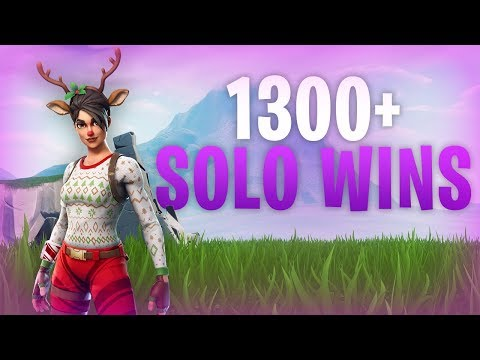 Fortnite - 1300 Solo Wins! 17K Eliminations. Good Console Player. Live Now :)