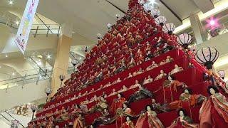شاهد: أكثر من 1800 دمية تقليدية تعرض أمام الجمهور الياباني قبل المهرجان السنوي هيناماتسوري…