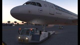 FlightFactor Airbus A320 with BetterPushback plugin