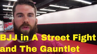 How I Used BJJ in a Street Fight and Why I like the Belt Gauntlet