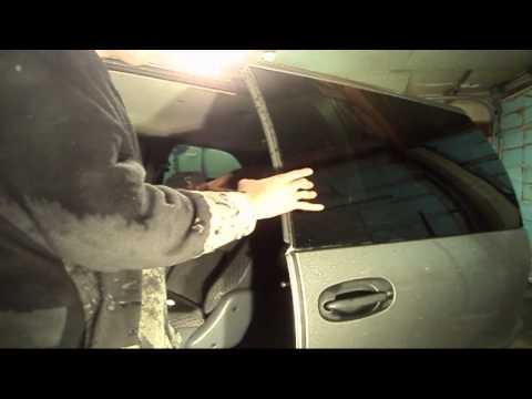 MiniVan Rear Slider Door Removal