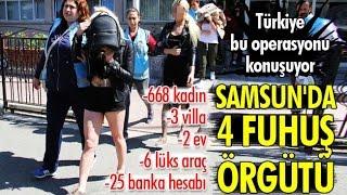 Türkiye, Samsun Polisinin Operasyonunu Konuşuyor!