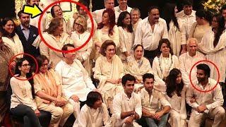 Full Kapoor Family Shameful Behavior At Shashi Kapoor's Prayer Meet -Kareena,Ranbir,Rishi,Karishma