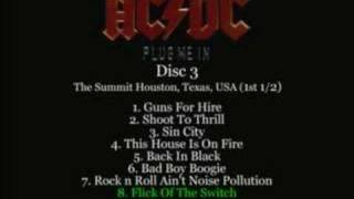 AC/DC - Flick Of The Switch Live 1983