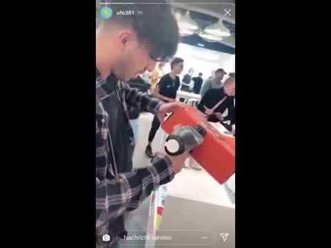 auf 361 Satankreuz Schuhe UFO malt rauf Nike q45RcL3Aj