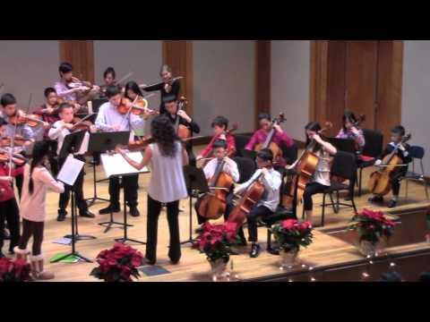 Brandenburg Concerto No. 3 by J.S. Bach/ arr. M. Isaac