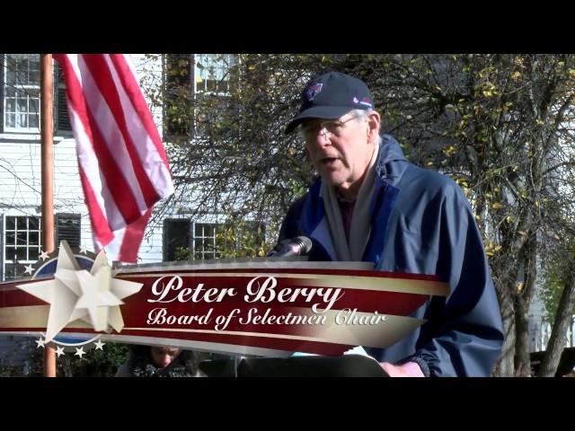 Acton Veterans Day Ceremony - November 11th, 2016