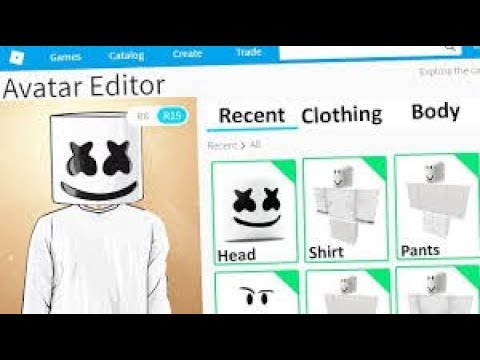 Como Ser Marshmello En Roblox Sin Robux Youtube - como vestirse como marshmello sin robux how to get robux