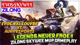 Legends Never Fade !! Zilong Skywee MVP Gameplay [ SkyWee Zilong ] EVOS•SkyWee Zilong Mobile Legends