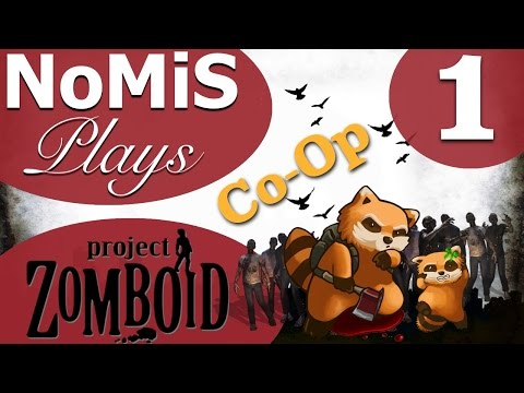 NoMiS & Slender Play Project Zomboid | Co-op | - Part 1
