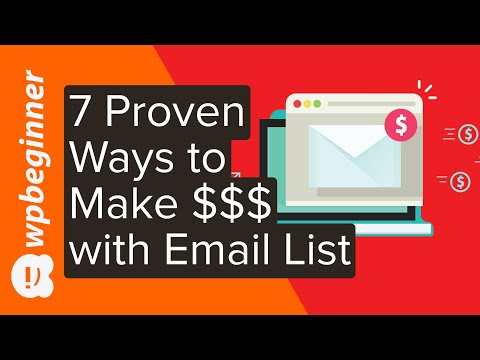 7 Proven Ways to Make Money with Your Email List