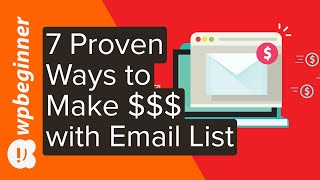 Now that you've created your email list and are starting to get subsribers, it's time make money with list. in this video you'll learn seven of our r...