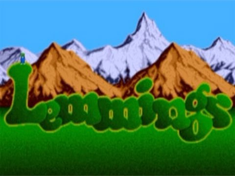 Lemmings (Amiga 500) #1 - Title screen