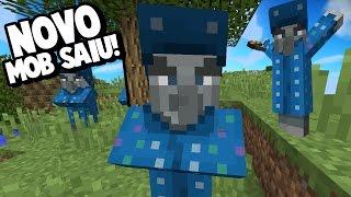 O NOVO MOB APRESENTADO!!! O ILUSIONISTA! | Minecraft Atualização (1.12)