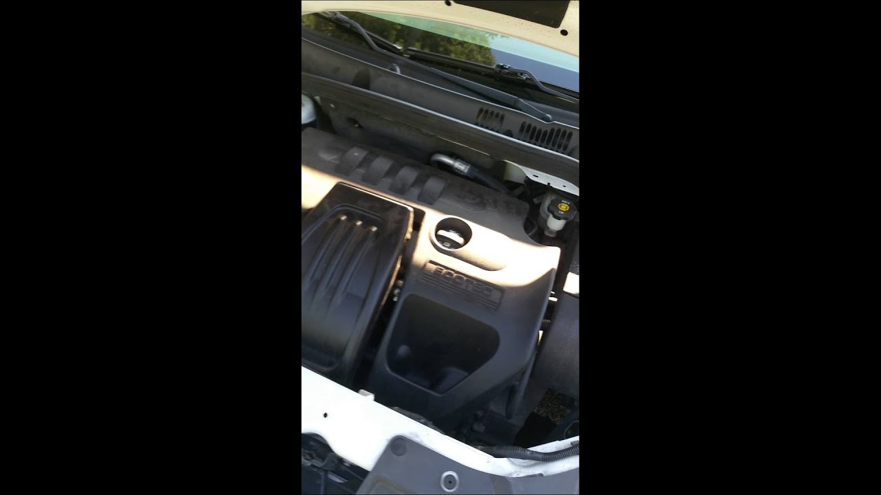 2007 chevy cobalt ls 2 2 loud engine youtube. Black Bedroom Furniture Sets. Home Design Ideas