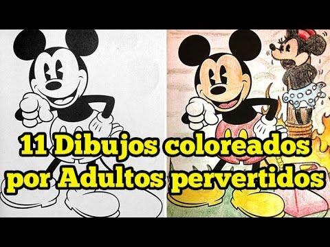 11 Dibujos Coloreados Por Adultos Pervertidos Youtube