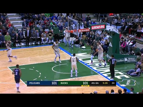 4th Quarter, One Box Video: Milwaukee Bucks vs. New Orleans Pelicans