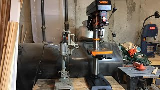 WEN 12 Inch Drill Press - Unboxing and Assembly