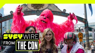 VR180 | 180° Cosplay Dance-Off | SAN DIEGO COMIC CON 2018 | SYFY WIRE