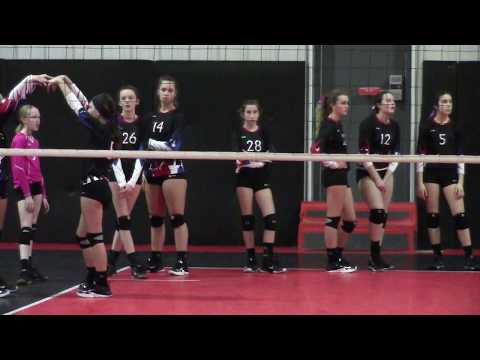 Epic U 13 National Rox & Attack 13 Select first set Attack won 25 : 17