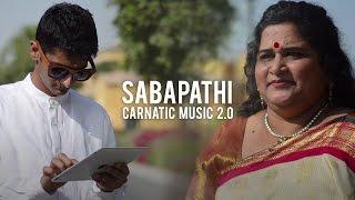 Sabapathi (Mahesh Raghvan ft. Leela Salivati) - Carnatic Music 2.0
