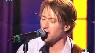 Trashcan Sinatras Live on Canada AM September 2004. Frank's mic cut...