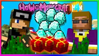 Minecraft - GIFTS FOR EVERYONE! HAPPY LABOR DAY | Episode 56 of H4M (How to Minecraft Season 4)