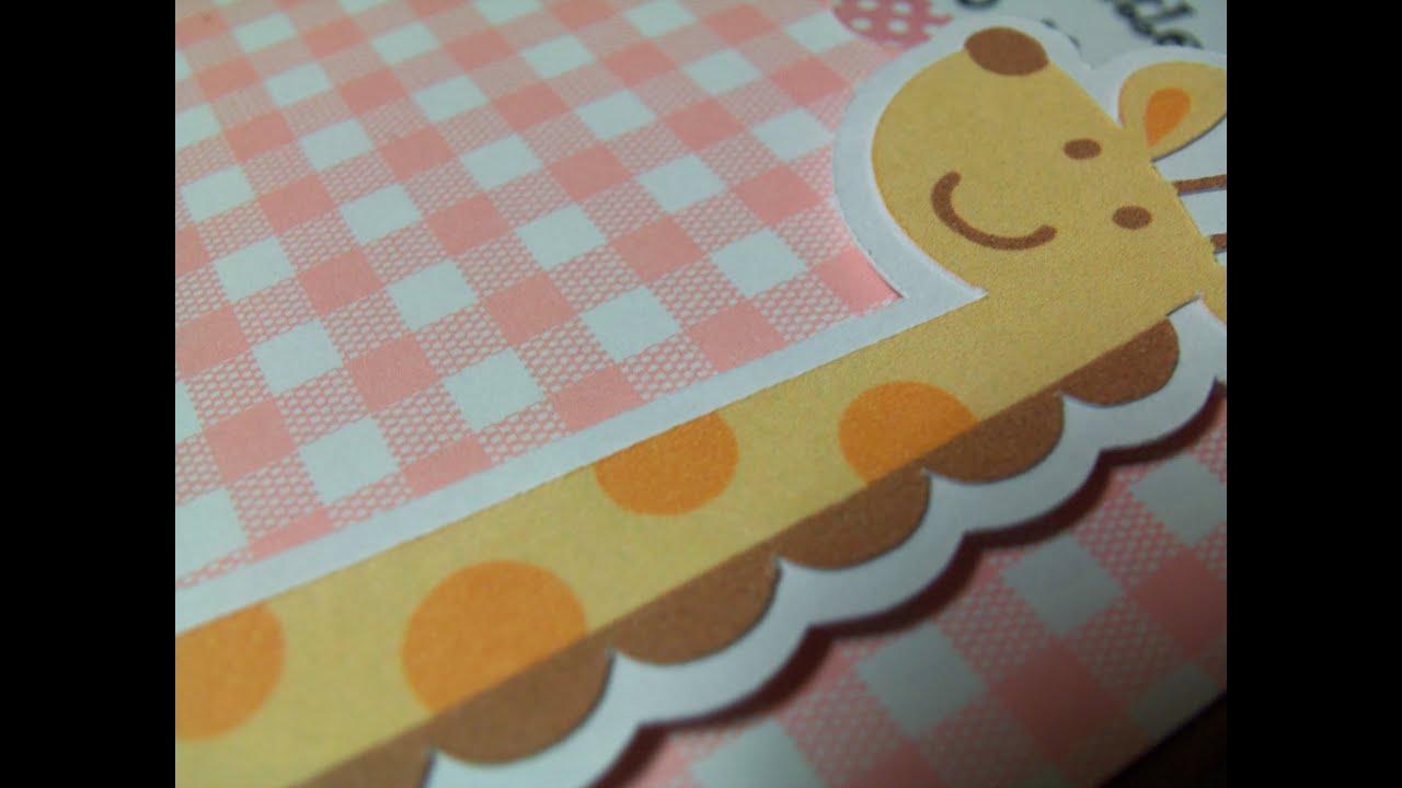 CRICUT BABY CARDS