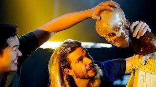 Sub-Zero's Ice Axe Behind the Scenes | The Science of Mortal Kombat