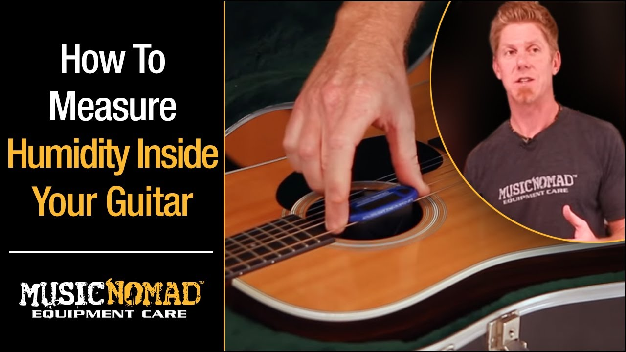 How To Humidify A Guitar Case Electric Acoustic Guitar Humidifier Youtube