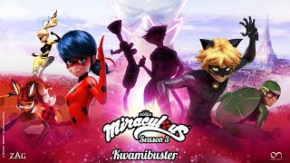 MIRACULOUS | 🐞 KWAMIBUSTER - OFFICIAL TRAILER 🐞 | Tales of Ladybug and Cat Noir