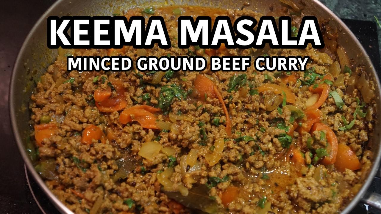 keema masala recipe indian ground beef curry youtube keema masala recipe indian ground beef curry forumfinder Choice Image