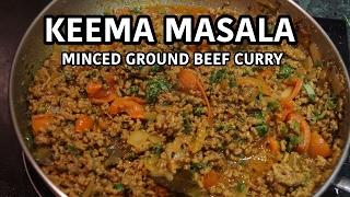 Keema Masala Recipe - Indian Ground Beef Curry
