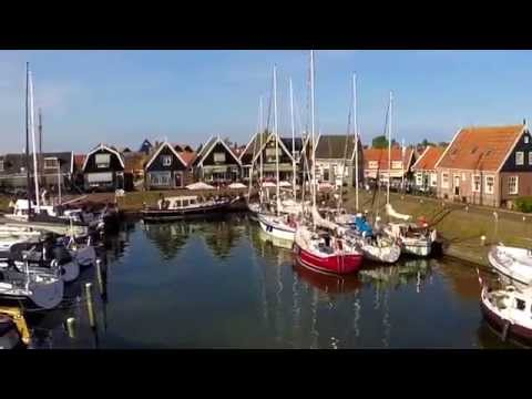 The isle of Marken from above - The Netherlands