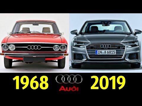 Audi A6 - Эволюция (1968 - 2018) !
