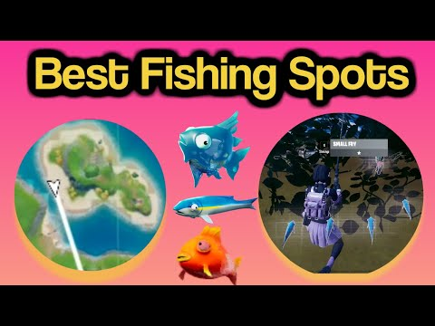 Fortnite BEST Fishing Spots To Catch Most Fish In Chapter 2 (Most Fish Caught In Single Match Tips)