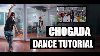 Chogada Dance Tutorial | Step By step | Garba with bollywood | Vicky Patel Choreography