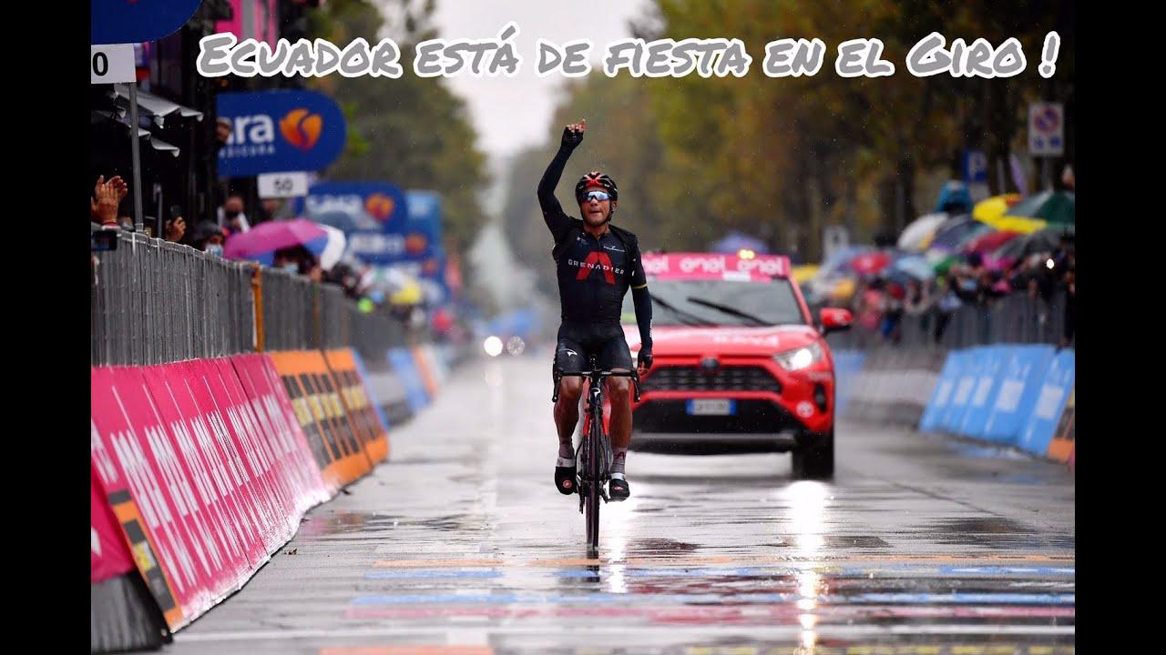 Ecuador está de fiesta en el Giro !