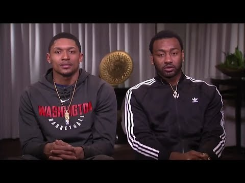 Inside the NBA: John Wall & Bradley Beal Interview 2018 NBA All-Star Weekend Funny