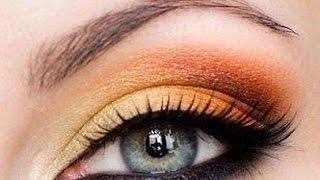 ❀Макияж в оранжевых тонах/Летний макияж❀