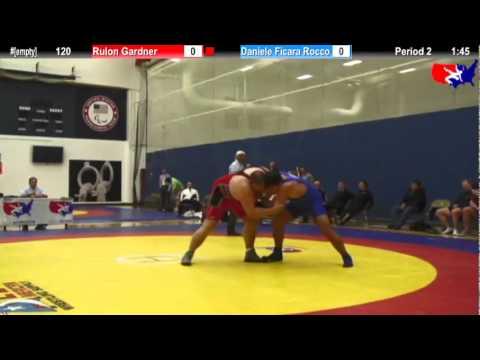 2012 Kiki Cup 120: Rulon Gardner (USA #3) vs. Daniele Ficara Rocco (Italy)