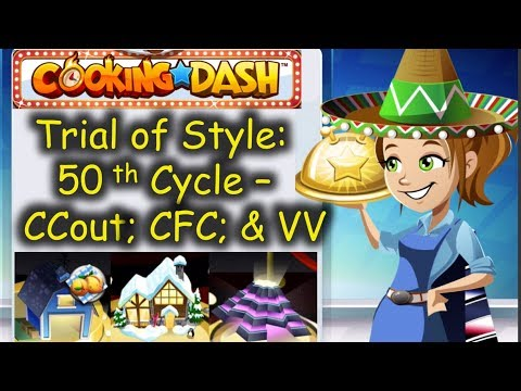 TOS 50th Cycle = Insane Treasure Hunt Requirement & TOS - VIP Valhalla. (Cooking Dash)