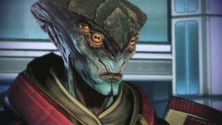 Mass Effect 3. Протеанин Явик. Нарезка.