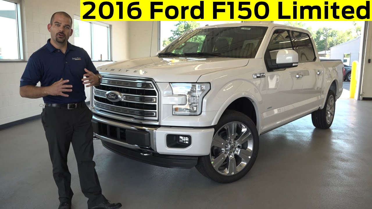 2016 Ford F150 Limited Exterior Interior Details