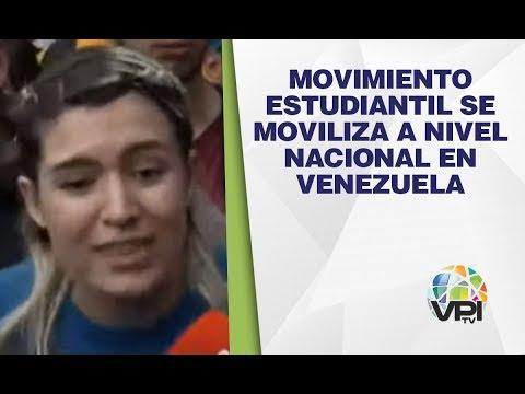 EN VIVO - Movimiento estudiantil se moviliza a nivel nacional en Venezuela